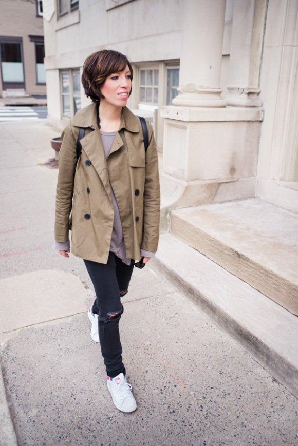 Shana's latest spring OOTD on the mom edit.